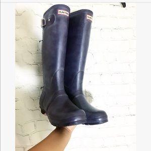 Women's Purple Tall Hunter Boots